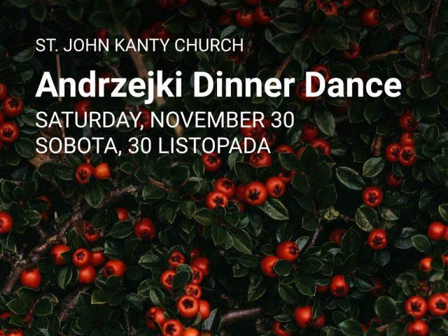 St. Andrew's Dinner Dance —  Andrzejki