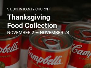 Thanksgiving Food Collection