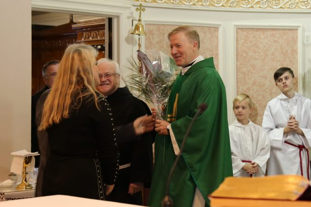 Welcome Fr. Andrzej Treder