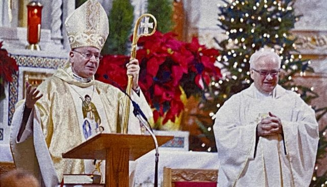 Bishop Arthur Serratelli visits Saint John Kanty Church