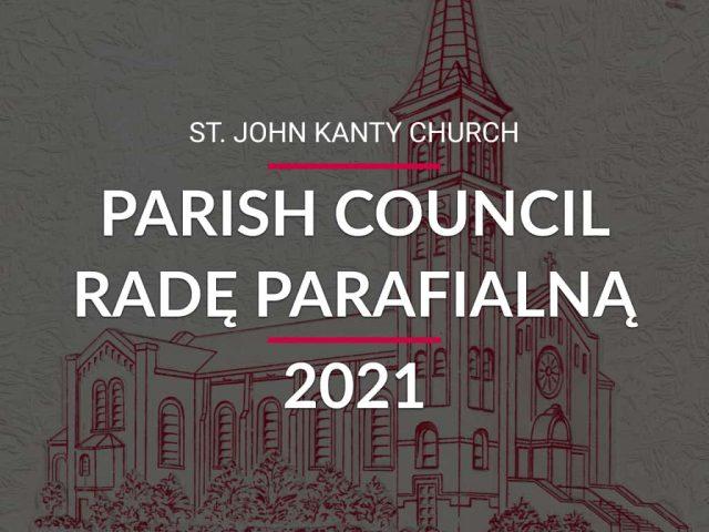 2021 Parish Council — Radę Parafialną