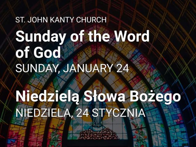 Sunday of the Word of God — Niedzielą Słowa Bożego
