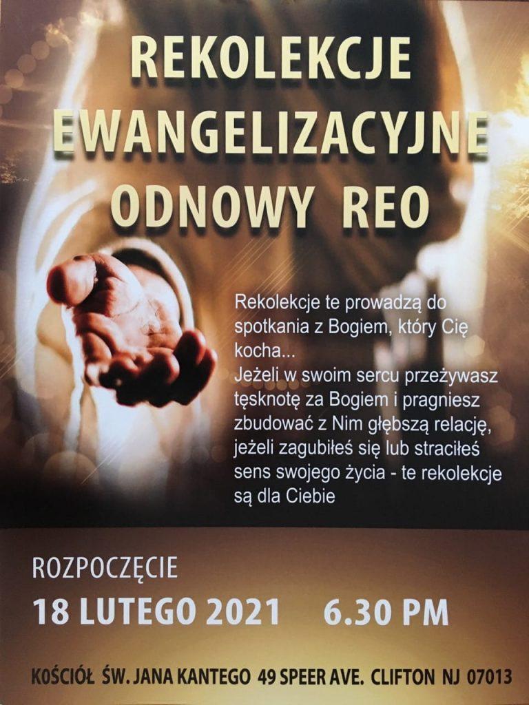 Rekolekcje Ewangelizacyjne Odnowy REO