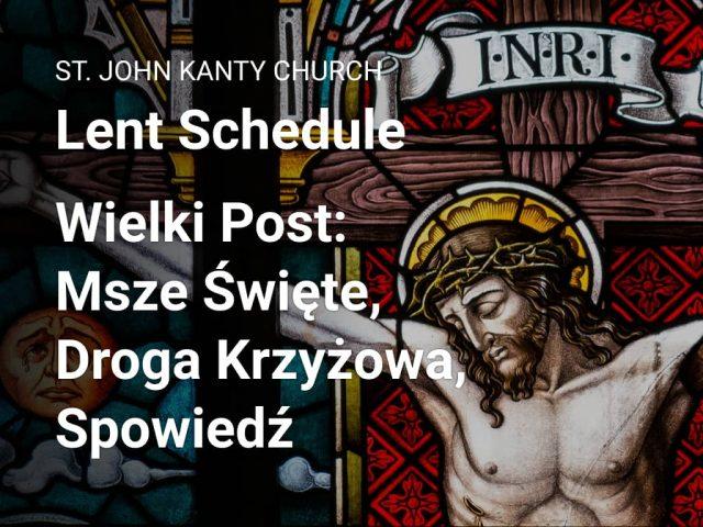 Lent — Wielki Post