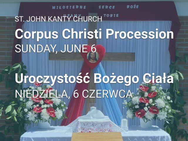 Corpus Christi — Uroczystość Bożego Ciała