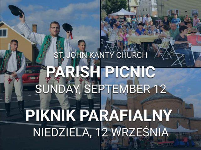 St. John Kanty Parish Picnic – September 12, 2021   Piknik parafialny św. Jana Kanty